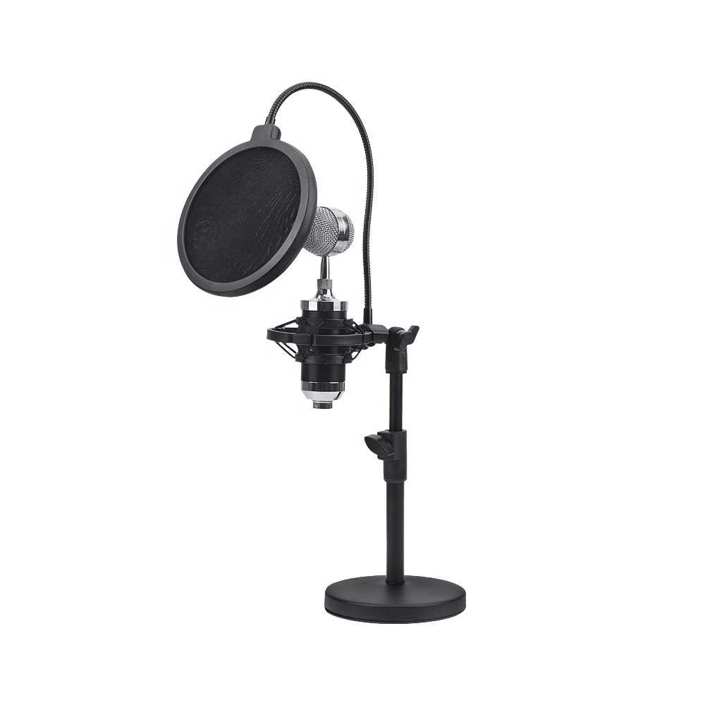 2019New High Quality Microphone Stand Portable Desktop Mic Holder